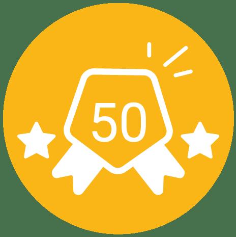 Plus de 50 avis clients déposés