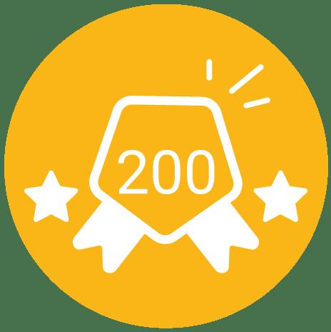 Plus de 200 avis clients déposés